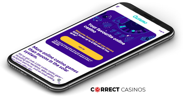 Casumo Casino - Mobile Version