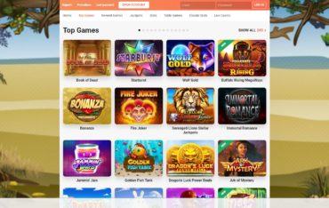 leovegas slots and games
