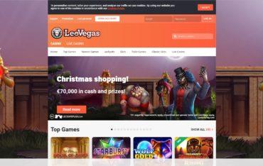 Leovegas.com website review