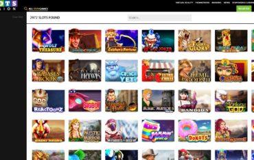 SlotsMillion.com Games and Slots