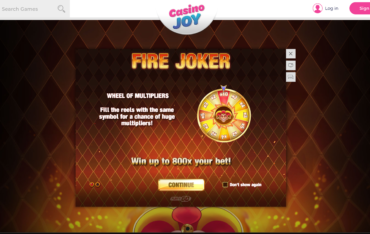 Play free slots at casino joy