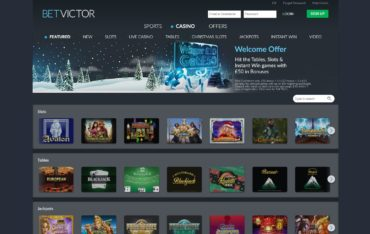 Betvictor.com - website review