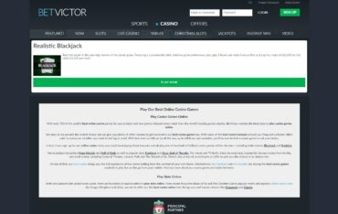 Betvictor.com - play online