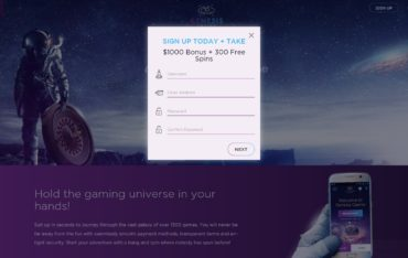 Sign Up at Genesis Casino