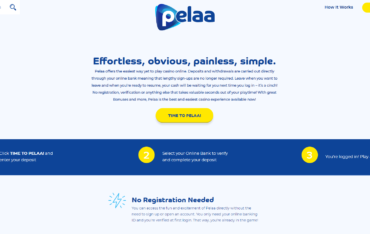 Sign Up at Pleaa Casino