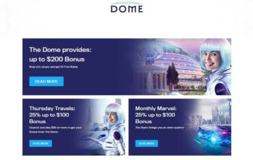 Promotions at Dome Casino