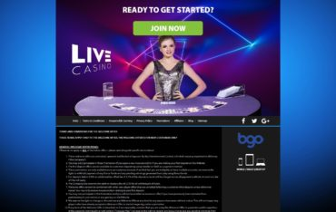 BGO casino Sign up