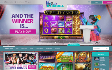 Karamba Casino Website Review