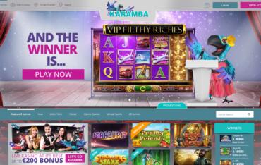 Karamba Casino Website Review