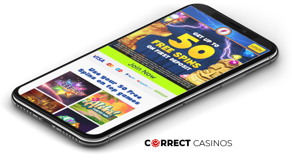 Power Spins Mobile Casino Review