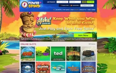 Power Spins_Play online slots