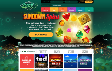 Vegas Luck Casino Play online slots