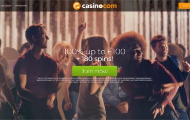 Casino.com Website Review