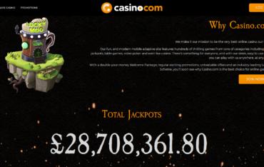 Casino.com Total jackpots