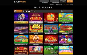 Lion Wins-Games selection