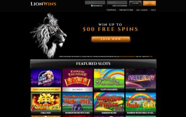 Lion Wins-Website Review