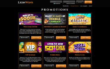 Lion Wins-promotions
