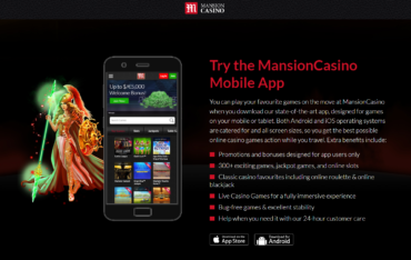 Mansion-Mobile app
