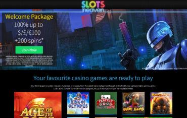 Slots heaven_Play online games