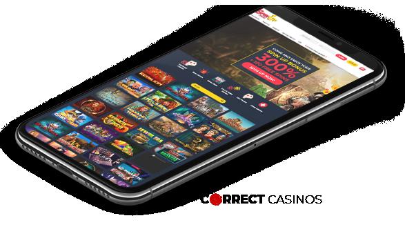 SpinUp Mobile Casino