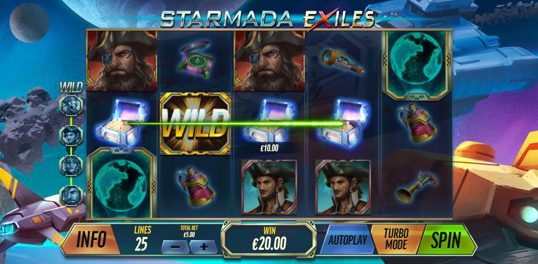 Spiele Starmada Exiles - Video Slots Online