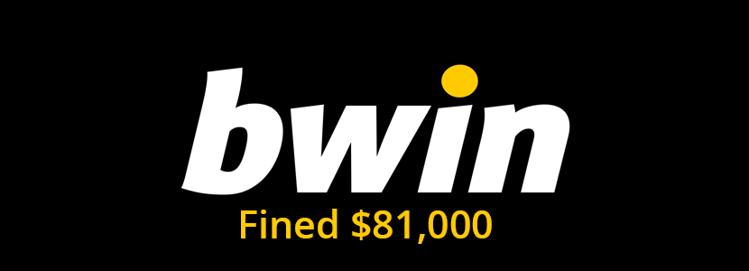 New Jersey Regulatory fined bwin with $81k