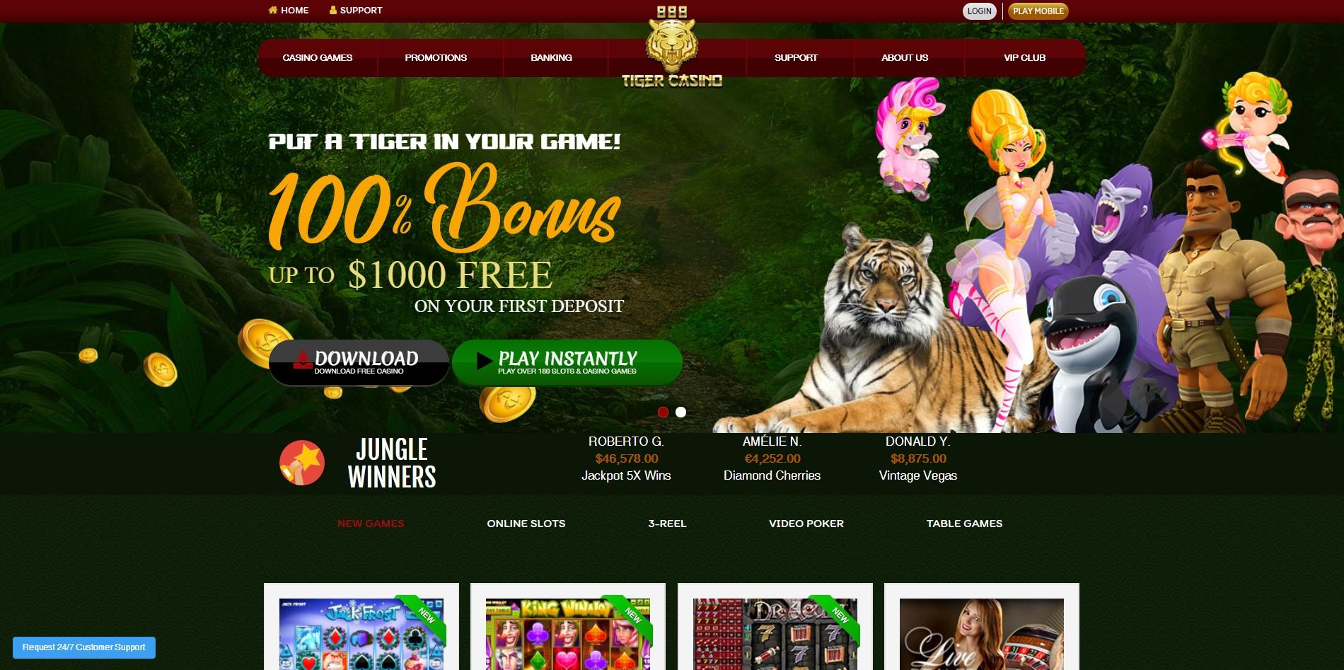 888tiger Casino Review - Safe or Scam?