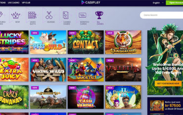 Casiplay Casino games selection