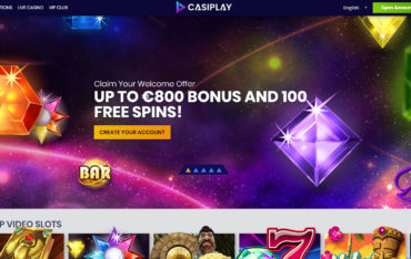 Casiplay Casino website review
