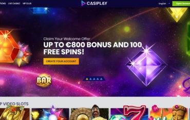 Casiplay Casino website review