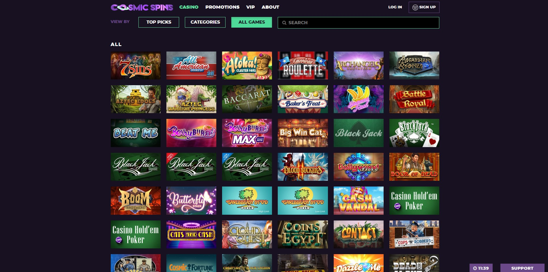 Cosmic Spins Casino Review Safe Or Scam