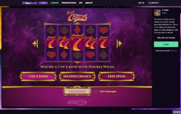 Cosmic Spins-play online slots