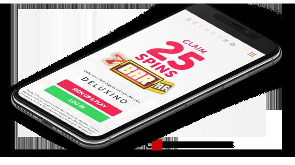 Deluxino Casino Mobile