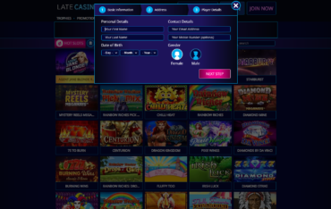 Late Casino sign up