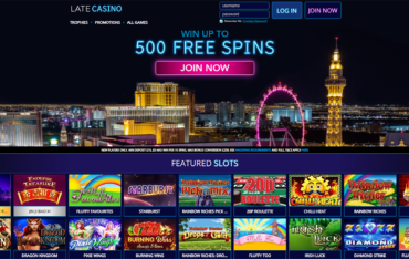 Late Casino website review
