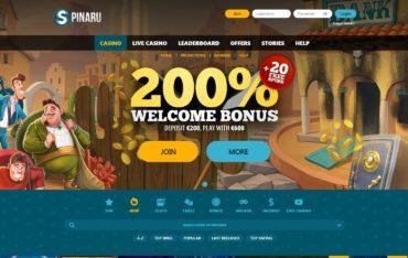Spinaru casino website review