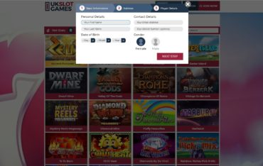 uk slot games casino sign up