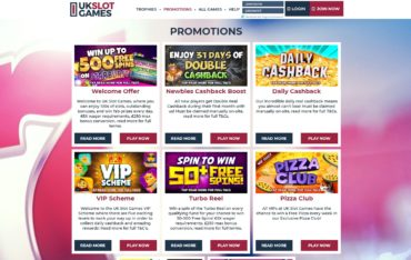 uk slot games promotions