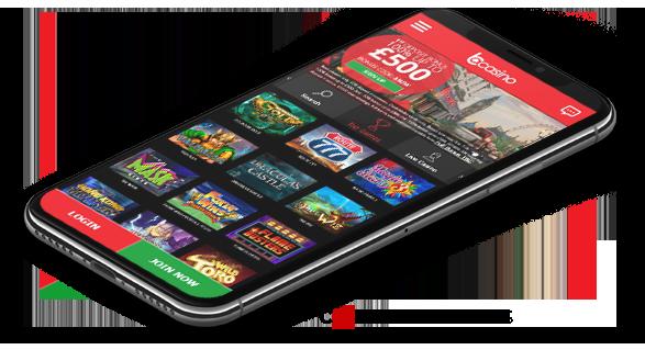 B Casino Mobile