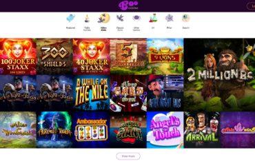 Boo Casino-games selection