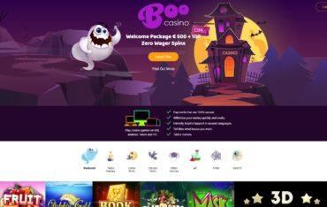 Boo Casino-website review