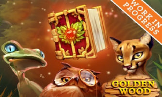 Golden wood slot