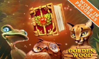 Golden wood slot