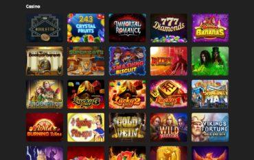 24K Casino-games selection