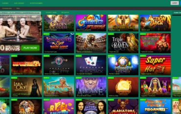 Bellis casino-games selection
