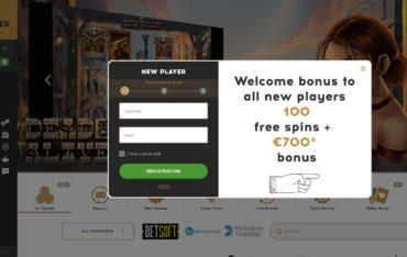 Bootlegger Casino-sign up