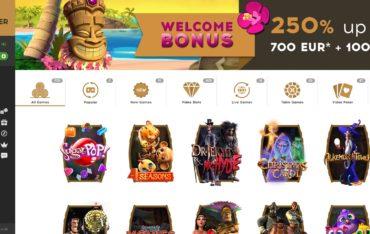 Bootlegger Casino-website review