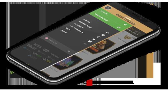 Bootlegger mobile casino