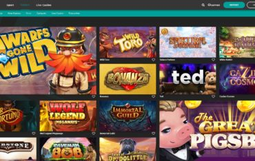 Fastbet casino -games selection