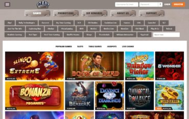 GIANT Casino-games selection